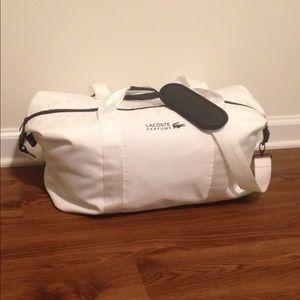 Lacoste travel duffel bag